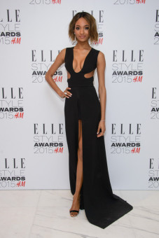 Jourdan Dunn at the ELLE Style Awards 2015 held at The Skybar at the Walkie Talkie Tower in London