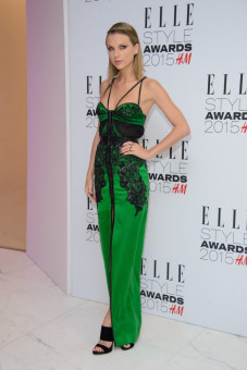 Taylor Swift at the ELLE Style Awards 2015 held at The Skybar at the Walkie Talkie Tower in London