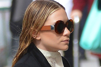 Mary-Kate and Ashley Olsen head to a meeting in NYC